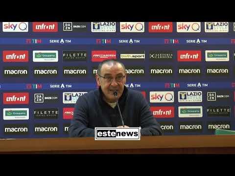 Lazio-Juventus 3-1, la conferenza di Sarri