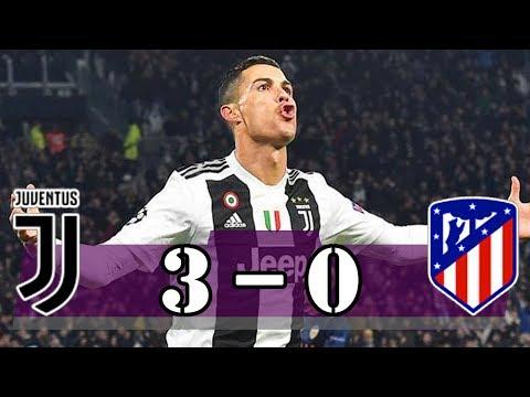 Ronaldo Hatrick – Juventus vs Atletico Madrid (3-0) | Last Match | UCL 2018-2019