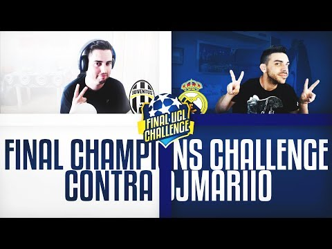 FINAL CHAMPIONS LEAGUE 2017 | JUVENTUS VS R MADRID | FUT DRAFT CHALLENGE CON DjMaRiiO