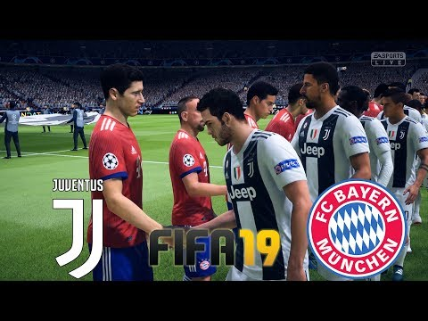 FIFA 19 Gameplay | Juventus vs Bayern Munich 2018 | Full match 60fps