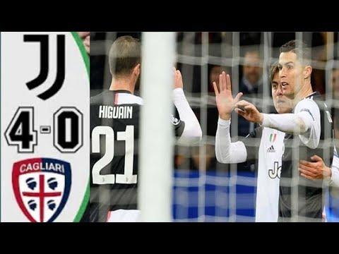 JUVENTUS VS CAGLIARI 4-0 SERIE A ITALY 6/1/2020 RESULT