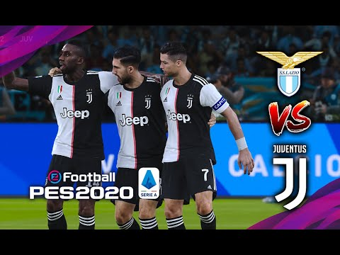 🔥 LAZIO vs JUVENTUS | SERIE A ● 07/12/2019 | PES 2020 Realistic | RONALDO UNLUCKY