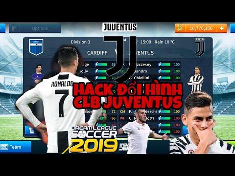 Hack Đội Hình Logo Và Áo Đấu Của CLB Juventus 2019 Dream League Soccer 2019