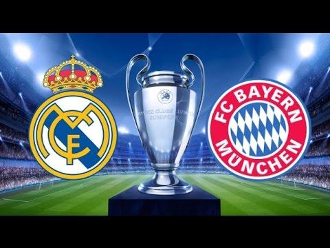 Real Madrid Bayern Munich Teams lineup champions league quarter final