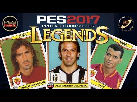 PES 2017 Legends Classic Roma vrs Classic Juventus Full Match