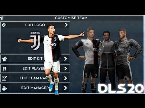 Juventus 2019-20 Kits for DLS 20