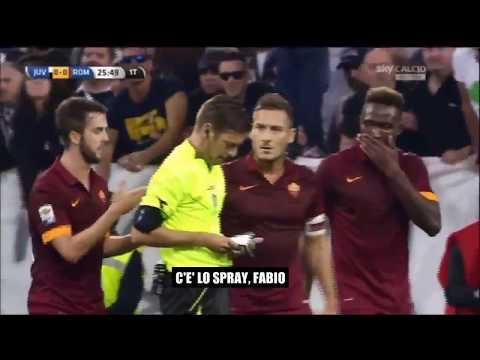 Rocchi top player bianconero juventus-Roma 3-2  5ottobre 2014