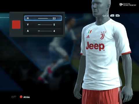 Juventus FC KIT AWAY PES 2013 + New Logo