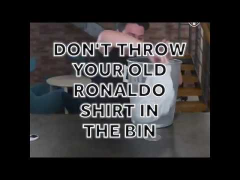 Fans Real Madrid? Jangan buang Jersey Cr7 mu!!! Real Madrid fans? Don't throw your CR7 shirt away!!!