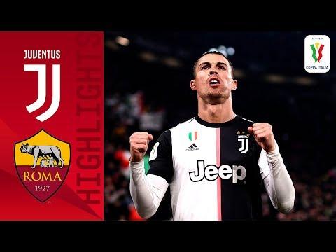 Juventus 3-1 Roma   CR7 on target as Juve beat Roma in quarterfinal!   Quarter-final   Coppa Italia