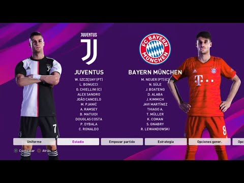 eFootball PES 2020 Gameplay | Juventus vs Bayern Munich | Pro Evolution Soccer 2020 [PES 20 Demo]
