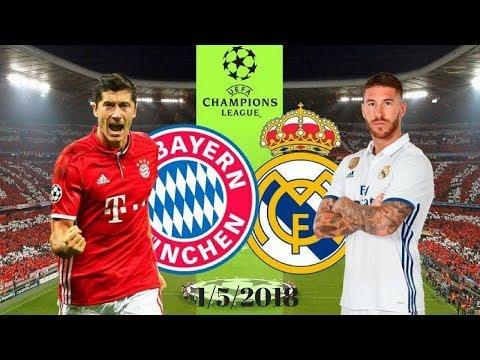 Predicted Lineup – Real Madrid Vs Bayern Munich 1/5/2018 | 2017-18 UEFA Champions League