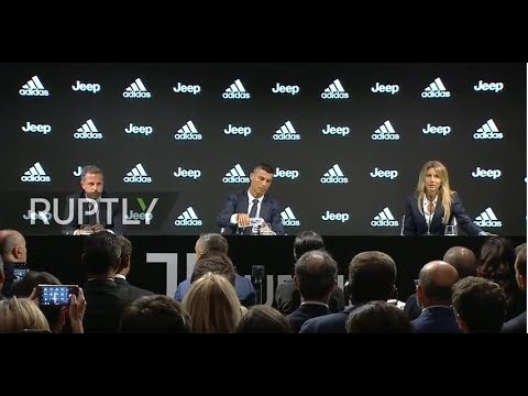 Live: Juventus presents Cristiano Ronaldo as new player