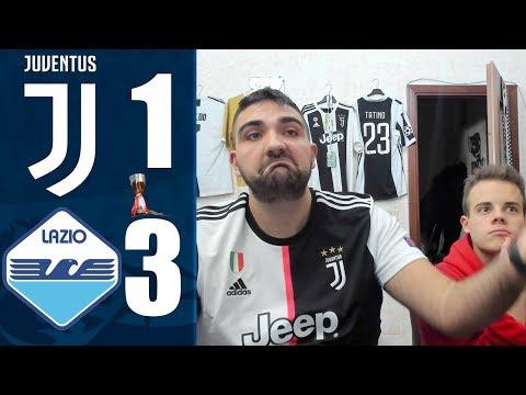 INCUBO… JUVENTUS 1-3 LAZIO | REACTION LIVE w/Enry  – FINALE SUPER COPPA ITALIANA