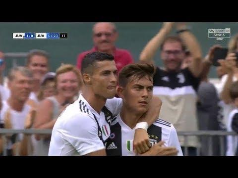 Cristiano Ronaldo – Debut for Juventus vs Juventus B 12/08/2018 HD