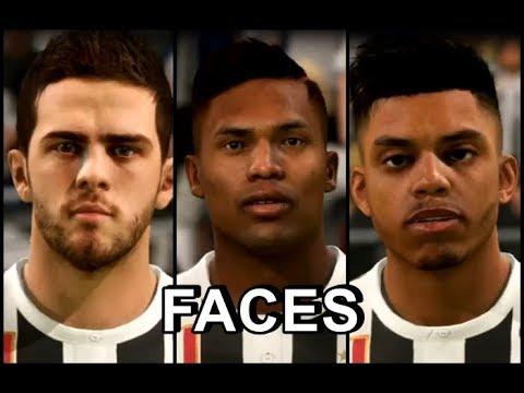 FIFA 18 – FACES JOGADORES JUVENTUS 2017