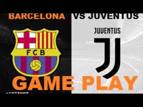 Barcelona VS Juventus Live  Latest Roster Game Play | FIFA 2015