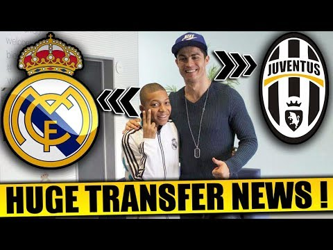 Mbappe to Real Madrid & Ronaldo to Juventus | Confirmed Transfers & Rumours 2018