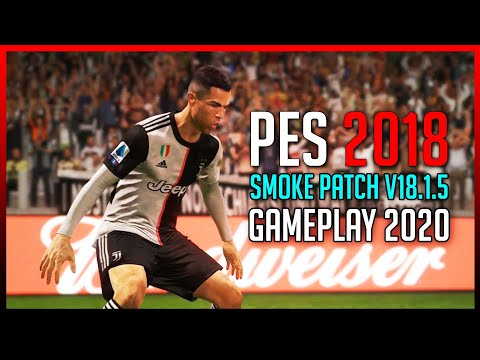 [ PES 2018 ] Juventus Vs Bayern Munich ( Smoke Patch V18.1.5 ) Full Gameplay 2020