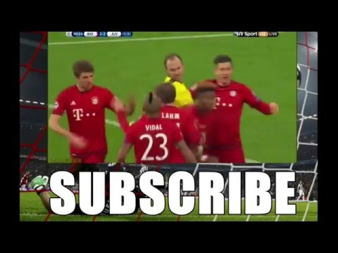 F.C. Bayern Munich Comeback against Juventus[Final Score 4-2] EXTENDED HIGHLIGHTS]