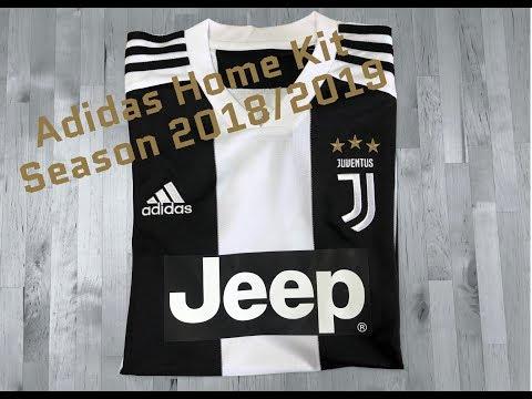 Adidas Juventus Turin Replica Jersey 'Home Kit Season 2018/19' | UNPACKING | sports fashion | 4K
