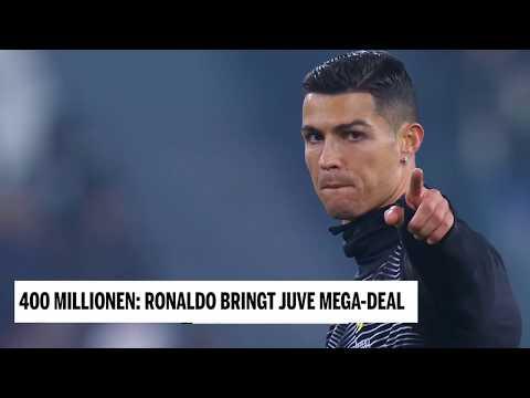 400 Millionen – Ronaldo bringt Juve Mega Deal