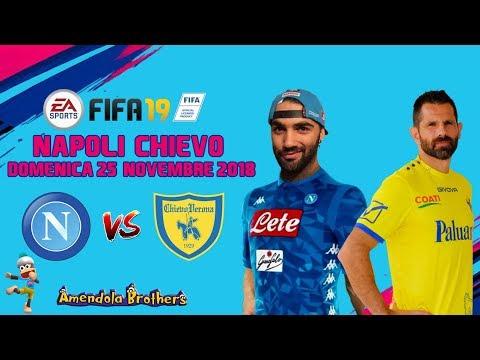 CHE GOLEADA ! – Napoli Vs Chievo Verona 25/11/2018 – Pronostico FIFA 19