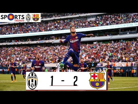 Juventus Vs FC Barcelona 1-2 | Highlights | 22 July 2017