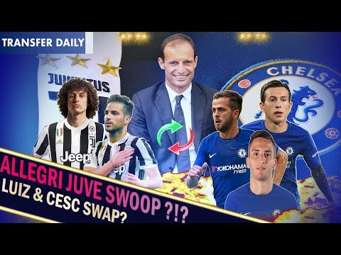 ALLEGRI WANTS TO BRING JUVENTUS TRIO TO CHELSEA! || Chelsea Transfer News