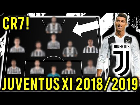 Juventus Possible Line Up XI 2018/2019 With CRISTIANO RONALDO !