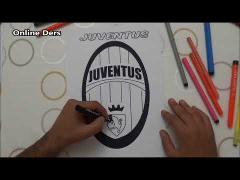 Juventus logo Boyama
