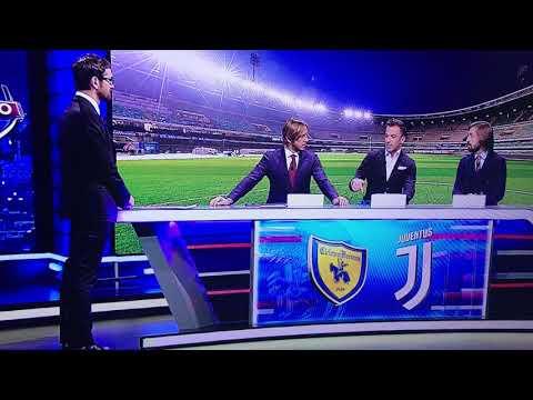 Chievo-Juventus, l'espulsione di Cacciatore