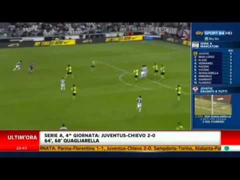 Juventus – Chievo 2-0 Serie A 2012-2013 4° Giornata (22-09-12)