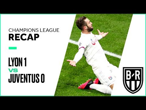 Lyon 1-0 Juventus: Champions League Recap with Goals, Highlights and Best Moments