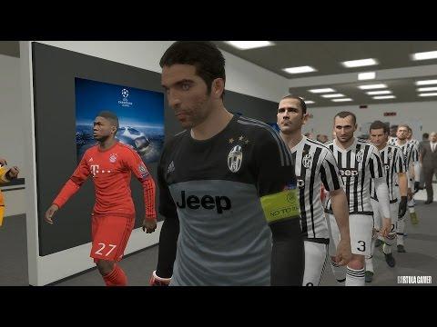 PES 2016 – UEFA Champions League -Juventus vs Bayern Munich – Playstation 4 (Dificuldade Estrela)