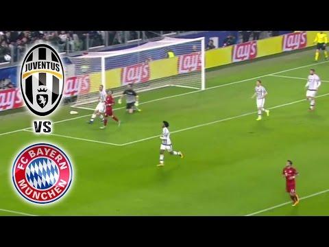JUVENTUS VS BAYERN MUNICH | OCTAVOS DE FINAL IDA | CHAMPIONS LEAGUE 23 – 02 – 2016