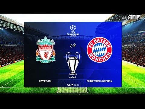 PES 2019 | LIVERPOOL vs BAYERN MUNICH | UEFA Champions League – UCL | Gameplay PC