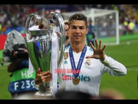 Cristiano Ronaldo  Real Madrid 2009 2018,Juventus 2018