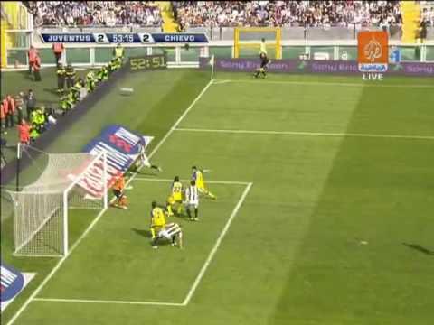 Juventus 3 3 Chievo Verona HQ 2008/09