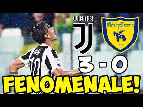 DYBALA FENOMENALE! JUVENTUS-CHIEVO VERONA 3-0