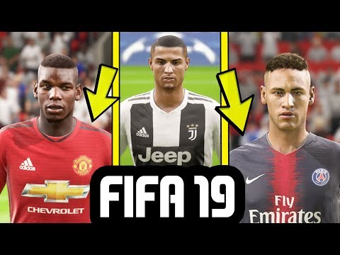 FIFA 19 GAMEPLAY – NEW KITS Ft. Manchester United, Real Madrid, PSG, Juventus & More