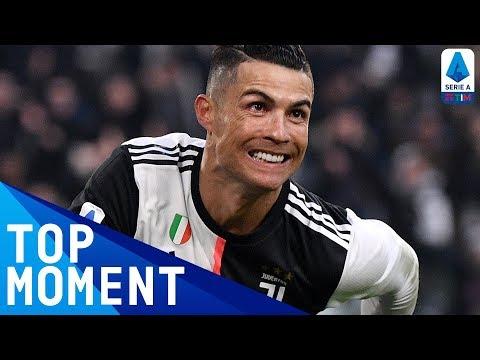 Ronaldo Scores His First Ever Serie A Hat-Trick! | Juventus 4-0 Cagliari | Serie A TIM