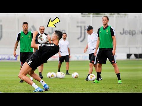 Cristiano Ronaldo In Juventus Training 2020