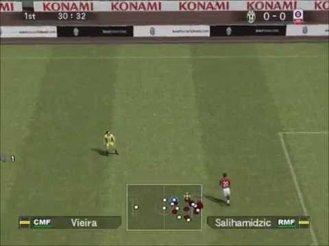 PES 5 Juventus vs Bayern Munich