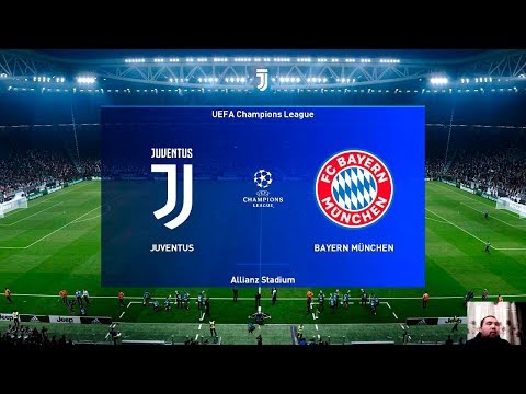 PES 2020 | JUVENTUS vs BAYERN MUNICH | UEFA Champions League