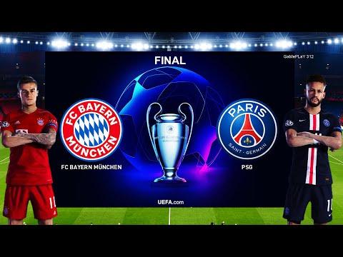 PES 2020 – Bayern Munich vs PSG – UEFA Champions League Final UCL – Penalty Shootout – Gameplay PC