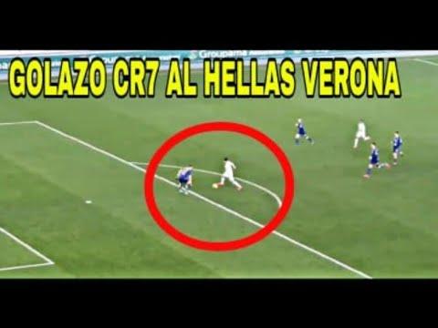 Gol Cristiano Ronaldo al Hellas Verona Serie A Juventus Vs Hellas Verona