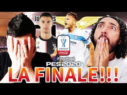 LA FINALE DI COCA COLA SUPERCUP!!! JUVENTUS-LAZIO [GABBOMAN VS FABIO] PES 2020