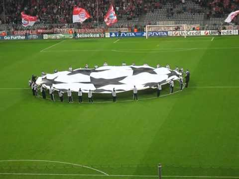 Bayern Munich vs Lille UEFA Champions League Anthem and team line up
