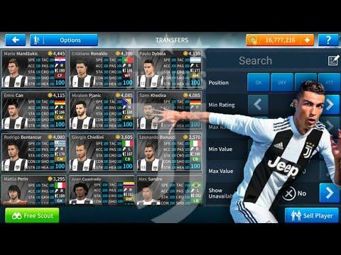 How To Hack Juventus Team 2018-19 Dream League Soccer  2019 [ELITE DIVISION]